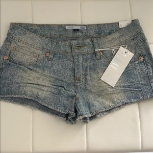 YMI DENIM SHORTS